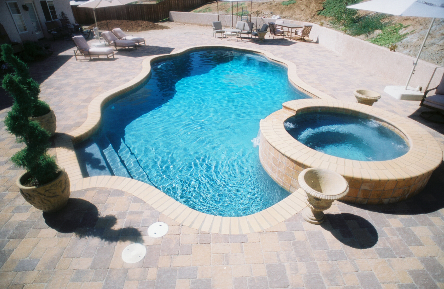 Lakeside Amp San Diego Ca Custom Inground Pools Padre Pools