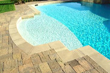 Flagstone Pool Deck